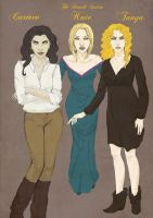 The Denali Sisters by half-blood-inc
