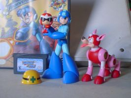 MegaMan items by Gregarlink10