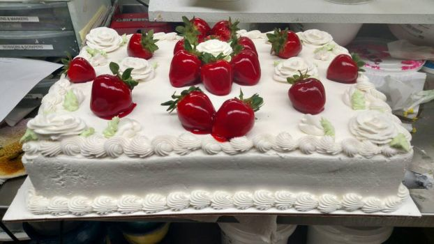 Wedding Shower Strawberries by moonstricken-luna