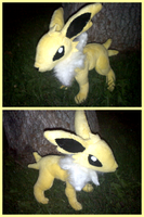 Jolteon Plush V2 by PrinceofPride