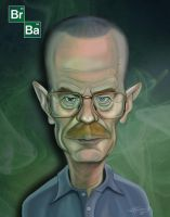 Walter-White-small by LyleDoucetteArt