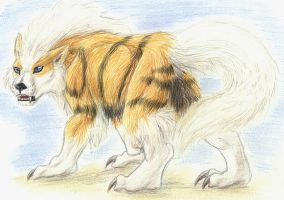 Were-Arcanine2 by Tacimur