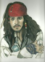 Johnny Depp Colour by donna-j
