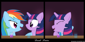 Drunk Ponies 2 by DonParpan
