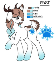 Commission: Saldemonium- Frost Ref Sheet by EvanEverAfter