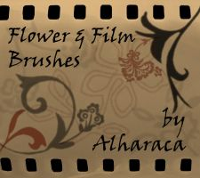 Flower and Film Brushes by Alharaca