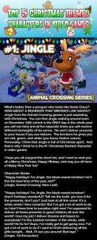 Top 5 List: Christmas Themed Characters #1 by GamersIntel