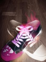 Artistic shoe by Tequilaz0r
