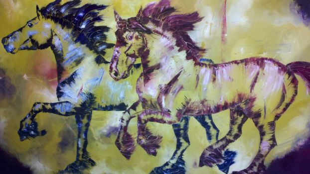 6 Ft Paintng by Friesians9230