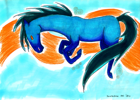 The Year of the Horse 2014 by RedVioletPanda