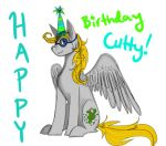 Happy Birthday Cutty! by SandfeatherWarrior
