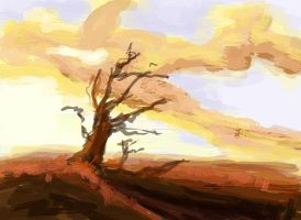 5 minute speed painting by BasquesArt
