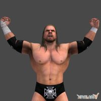 The Game Triple H by XNALaraFanatic