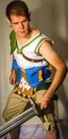 Ordon Link Cosplay Test by J-ndrax