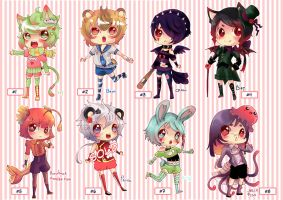 kemonomimi! Shota (CLOSED) by Toki-Doki-Adoptables