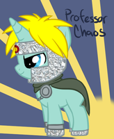 SP MLP- Professor Chaos by Fire-Girl872