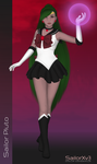 SailorXv3.09 - Sailor Pluto by SailorXv3