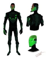 PR Green Lantern redesign by JohntheMurray