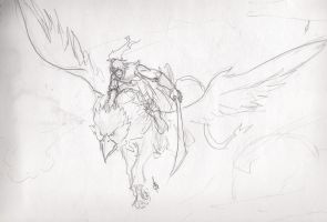 WOW, Varian on gryphon by AFSabiona