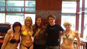 My RWBY bikinis with Lindsay and Michael by Tejnin