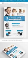 Corporate Business Flyer Template A4 and Letter by renefranceschi