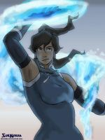 Korra Water Test by SolKorra