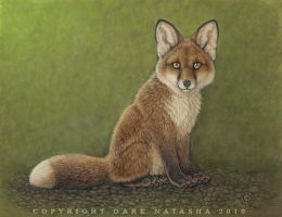 FoxPup by darknatasha