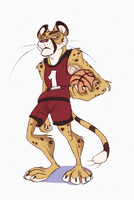 Basketball Cheetah ayooo by Konnestra