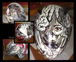 Graffiti on My Helmet.. by BombAsoldier