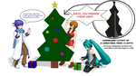 Cardboard Cut-out Christmas Tree! [+DL] by triangleboxstudio