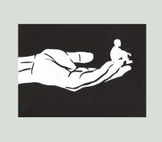 Tom Thumb - Paper Cut by RomancedWithWhispers