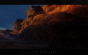 Terragen - The Badlands by avireX