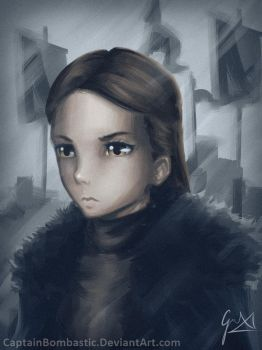Lyanna Mormont - Game of Thrones by CaptainBombastic