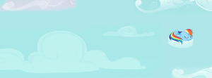 Rainbow Dash Facebook Timeline Cover by daniboy9999