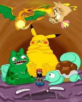 pokemania_stupid style by blackwinged-neotu