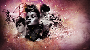 Rihanna Wallpaper by xxHappyHippyxx