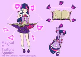 Magical mlp Twilight Sparkle (Design Test) by skyshek