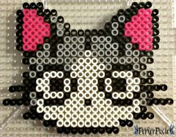 Chi The Cat by PerlerPixie