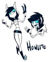 Howlite by DIN0LICH