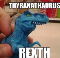 Thyranathaurus Rexth by The--Mad--Russian