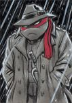 TMNT Raphael Sketch Card by timshinn73