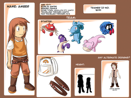 Trainer ID - Amber - ref by totodos
