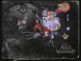 Alice in Wonderland by ninevolt-heart