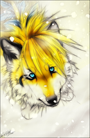 AT.:Kaminari:. by WhiteSpiritWolf