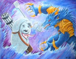 Urf and Warwick: Died Trying by Aphanopanop