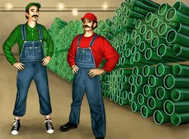 A Pipe Shop by tamiart