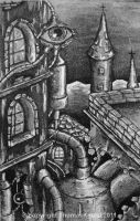 The Distillery_Aquatint by ThomKinzel