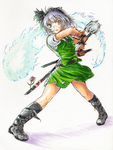 Youmu - slash by freezeex