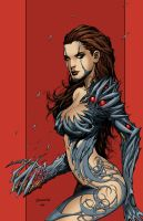 witchblade Color by a-ghostrider