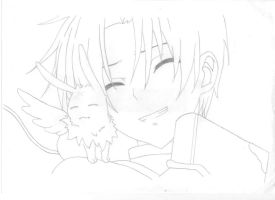 Teito and Mikage by B-Insane